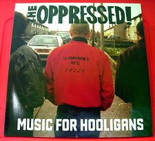 The Oppressed Music For Hooligans LP UK CLEAR VINYL RI 2011 Step-1 NEW Ltd 200