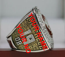 Custom Name&Number 2018 Calgary Stampeders 106th CFL Grey Cup Championship ring