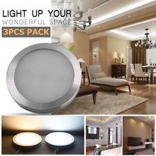 3PCS LED Under Cabinet Wall Lighting Kitchen Cupboard Closet Wardrobe Light Lamp