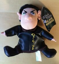 1998 Star Trek Alien Beans Vulcan Beanie toy ltd edition collectable tag