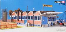 Kibri 9793 - Fabrikhalle - Factory - Spur H0 - Eisenbahn Modellbausatz - Kit