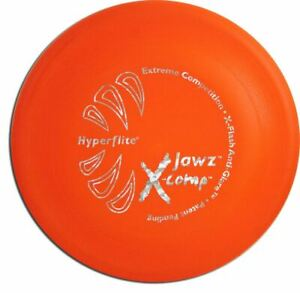 Hyperflite JAWZ X-COMP Dog Flying Disc - Rigid Frisbee for Competition