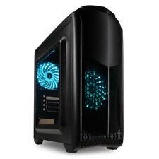 KOLINK AVIATOR M Rgb Micro-ATX caja de juegos de PC con ventana lateral y enfriamiento LED