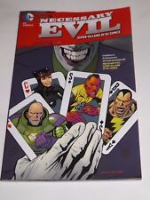 DC COMICS NECESSARY EVIL: SUPER-VILLIANS OF DC COMICS TPB