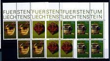 LIECHTENSTEIN - 1980 - Antichi attrezzi degli alpigiani. Cinquina