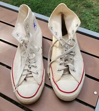 Vintage Worn Converse All Star Chuck Taylor Men's Sneakers High-Top Size 11