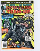 Super-Villain Team-Up #8 Marvel 1976