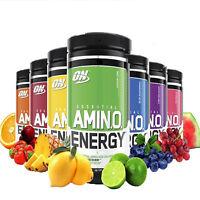 Optimum Nutrition Amino Energy 30 Servings & 65 Servings ALL FLAVORS
