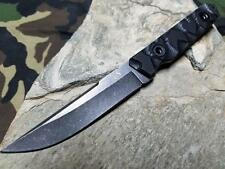 """Colt 7 1/2"""" Overall Fixed Knife Stainless Micarta Full Ext Tang Hunting 673"""