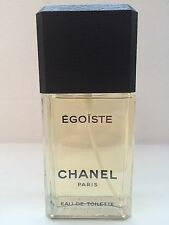 "EGOISTE by CHANEL POUR HOMME 3.4 oz/100 ml EDT Spray ""OLDER VERSION"" New No Box"