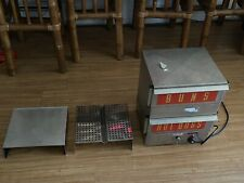 Used Commercial APW Wyott DS-1A Hot Dog Machine Steamer and Bun Warmer.
