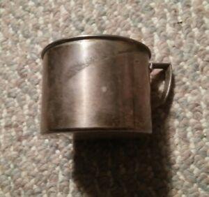 044 Vintage Oneida Community LTD Baby Cup Silver Silverplate Mug Tea Cup