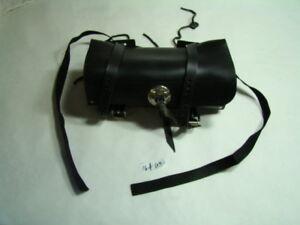 leather tool bag sissy bar pouch Harley 91772-85A FXR Softail Dyna XL EPS16469