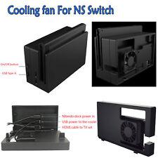 Externer USB-Lüfter kompatibel Cooling Fan für NS Switch Docking Station Neu