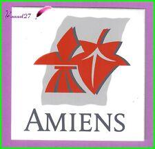 Ancien Autocollant Ville de AMIENS Logo écusson blason #2