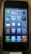 Apple iPhone 3GS Black Unlocked 32gb Model A1303 with damaged top