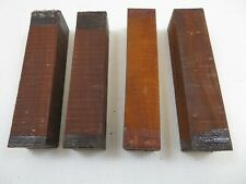 "BEAUTIFUL COCOBOLA, COCOBOLO  WOOD TURNING BLANKS 1-1/2"" x 1-1/2"" x 6"" FREE SHIP"