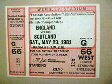 E Football International Fixture Tickets & Stubs
