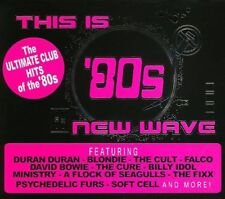 This Is '80s New Wave by Various Artists (CD, Sep-2006, 4 Discs, Cleopatra)