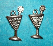 Pendant Martini Charms Cocktails Charm Bartender Cosmopolitan Charm Alcohol