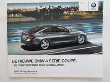 BMW 4 Series Coupe 2013 brochure prospekt - Dutch market