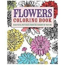 Flowers Coloring Book: Beautiful Pictures from the Garden of Nature (Chartwell C
