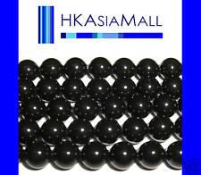 50 Swarovski Crystal Beads Pearl 5810 6mm MYSTIC BLACK