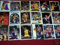 LAKERS BASKETBALL CARDS 1990'S STARS