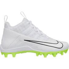 New Unisex Nike Alpha Huarache 6 Pro Lacrosse/Football Cleat White-Pick Size!
