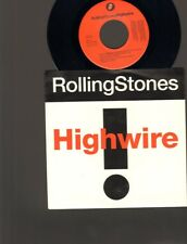 "ROLLING STONES Highwire 7"" SINGLE 2000 Light Years from home"