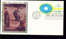 1974 FDC - Scott# U569 - Tennis Envelope - Colorano Cachet RV$100.00