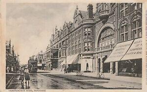 a england hampshire old postcard english christchurch road boscombe