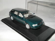 Audi A4 avant Minichamps 1995 1/43 vert grün green