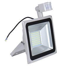 100W LED Cool White PIR Motion Sensor Flood Light Outdoor Security Lamp IP65