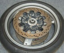 2003 Triumph Speed Triple 955i front wheel assy. GREAT
