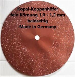 Hartmetall-Schleifscheibe doppelseitig 400 mm fein Körnung 1,0 - 1,2 mm -Neu-