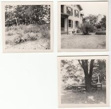 [57124] LOT 3 Circa 1940's PHOTOGRAPHS OF OUTDOOR SHOTS IN ANSONIA, CONNECTICUT