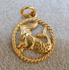 Jewelry Charm Vintage Sterling Silver 925 Gold Vermeil Signed RJL #2 ZODIAC Arie