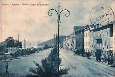 """CARTOLINA DI LOANO """" CORSO XX SETTEMBRE """" 1928 C6-303"""