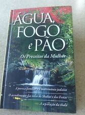 AGUA FOGO e PAO, Portuguese Edition of  Jewish Family Purity