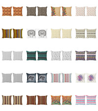Ambesonne Tribal Boho Cushion Cover Set of 2 for Couch and Bed in 4 Sizes