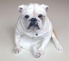 English Bulldog, Memorial Statue,Personalised Dog Memorial, Dog Sculpture, Urn