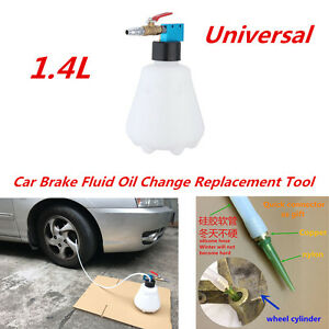 1.4L Car SUV Brake Filling Fluid Oil Bleeder Hydraulic Air Pneumatic Vacuum Tool