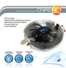 Zalman CNPS 80f FSB 80mm Ultra Silenzioso LOW PROFILE CPU Cooler