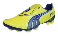 Puma V1.11 i FG Mens Firm Ground Soccer Cleats / Football Shoes - Yellow