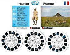 VIEW MASTER : FRANCE (Nations du Monde) - 3 disques/reels  C 230