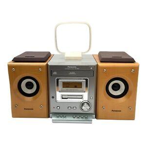 PANASONIC SA-PM07 Stereo System Micro CD AM/FM Radio Cassette Deck