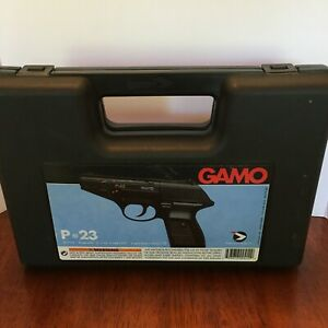 GAMO MODEL P-23 .177 cal  CO2 AIR PISTOL WITH HARD CASE  MADE IN SPAIN