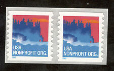 3693 Sea Coast Pair Mint/nh (Free shipping)