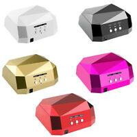 36W LED CCFL Nail Dryer Diamond Shape Curing Machine For UV Lamp Nail Polish CL